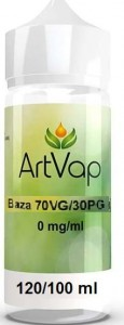 Baza 100ml 70VG/30PG 0mg do premix aromat